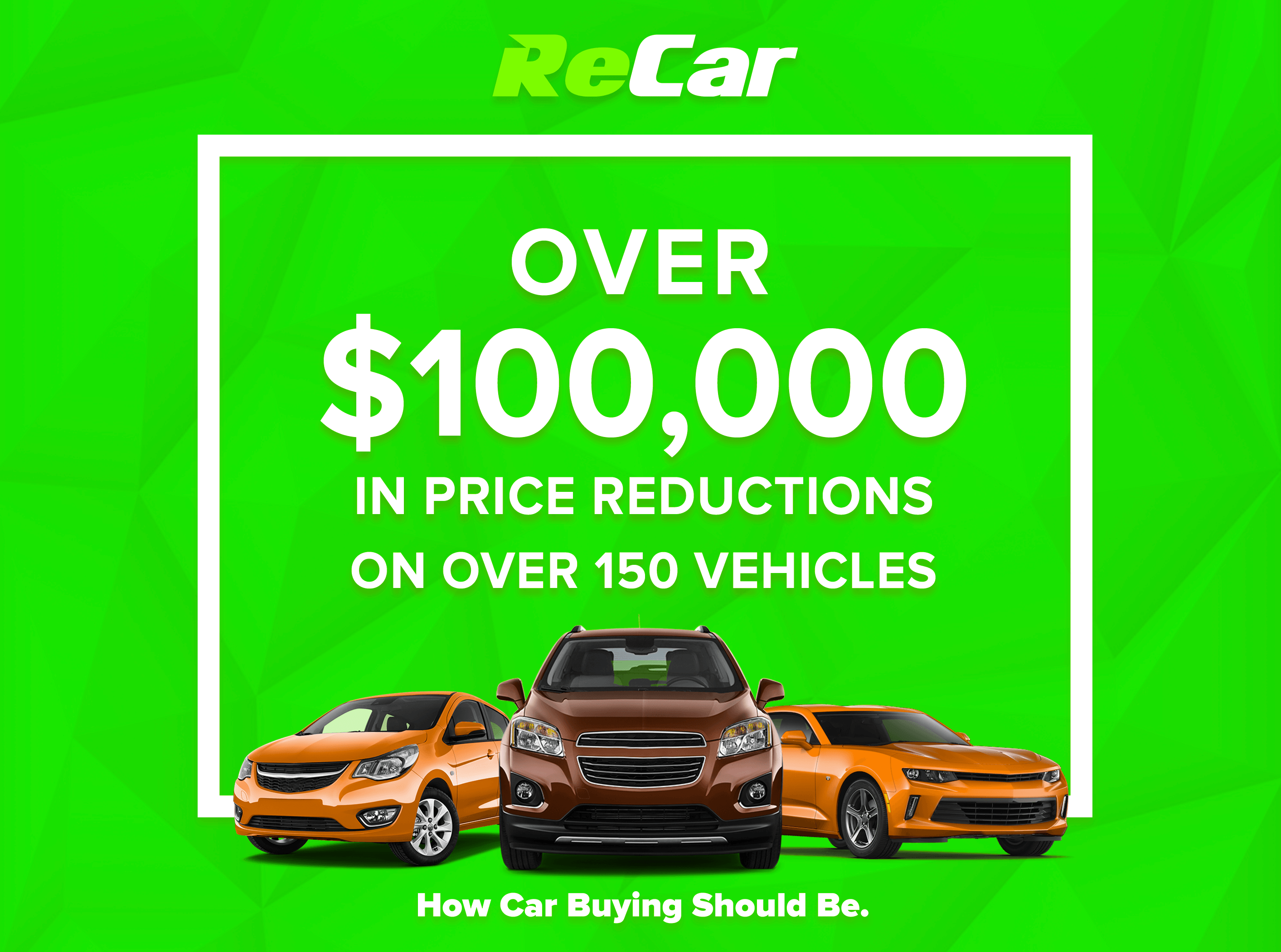 ReCar Price Reductions